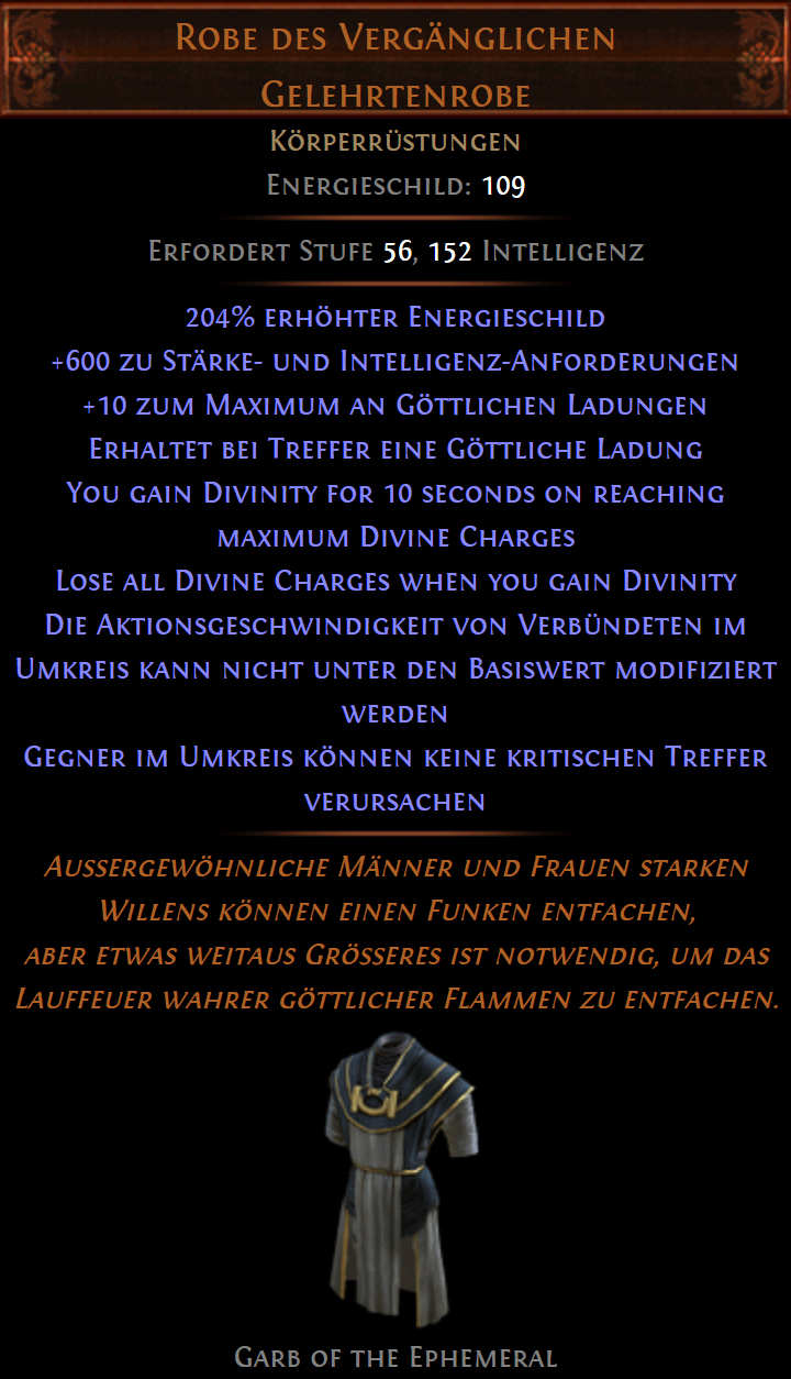 Neue Uniques aus Patch 3.6.0 Synthesis