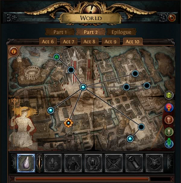 Path of Exile Levelphase